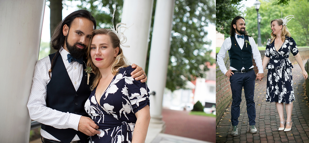Engagement portraits in Annapolis, MD