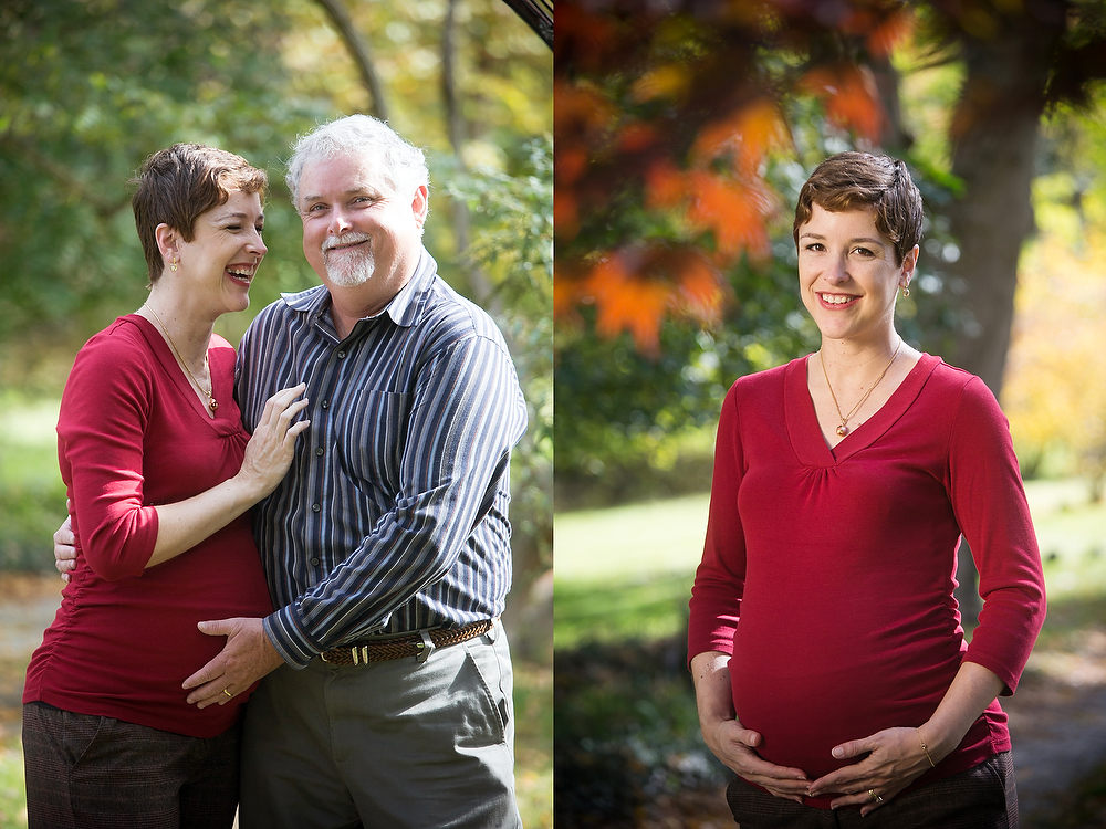 outdoor maternity portraits in baltimore