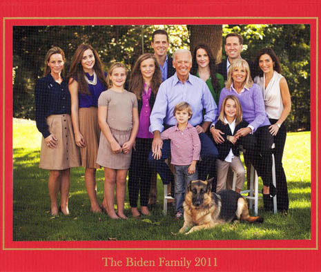 Joe Biden Holiday Card 2011
