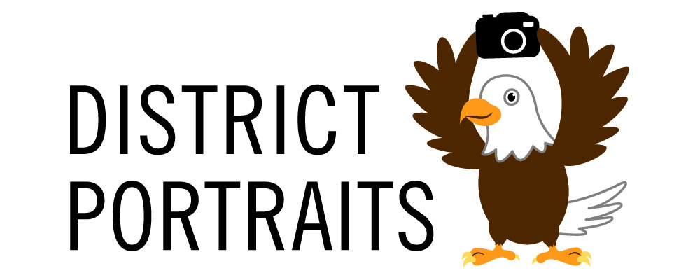 District Portraits logo