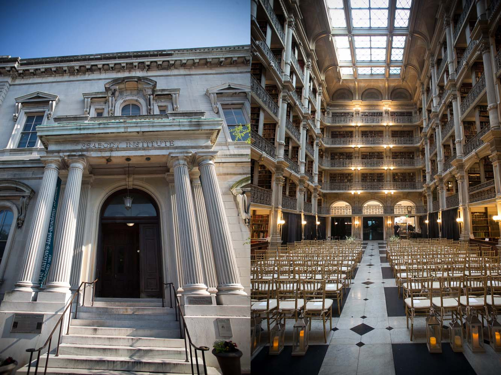 Alice And Adam At The Peabody Library Dennis Drenner Photographs