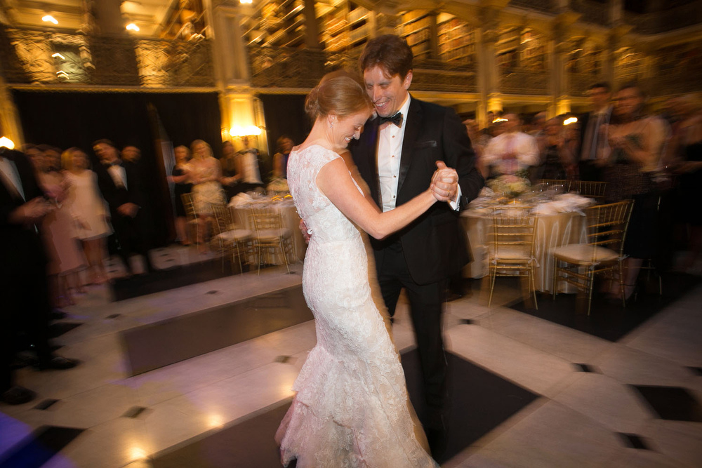 first dance at the peabody