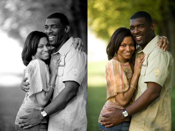 engagement portrait photography session at the lincoln memorial in washington, dc by dennis drenner
