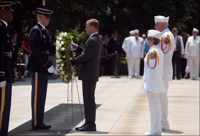On Your Wedding Day By Unknown: Memorial Day At Arlington For The IAVA