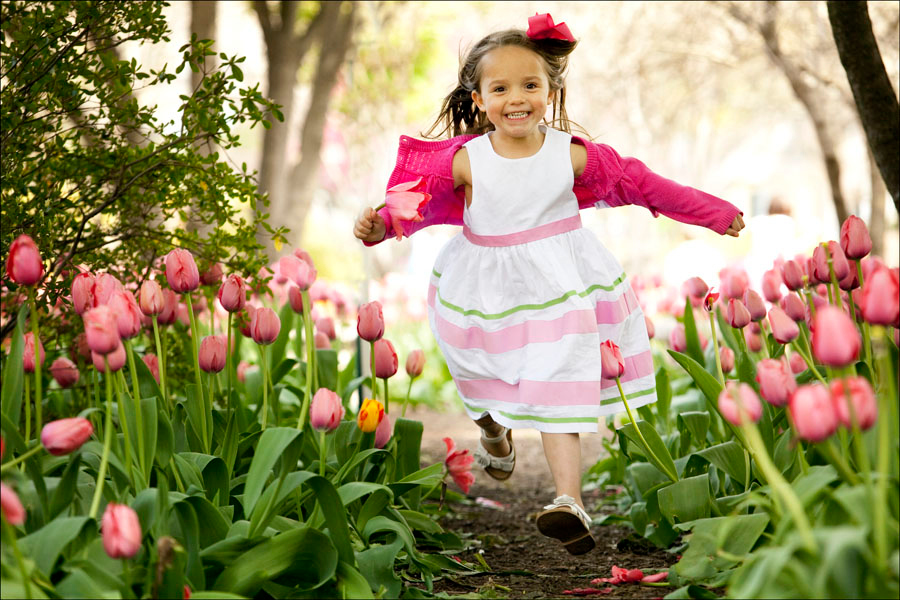 sherwood gardens child portrait
