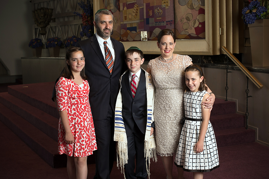 family portraits at baltimore hebrew congregation