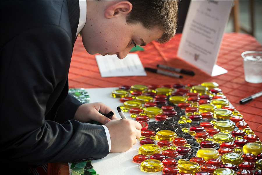 Art with a Heart at Bar Mitzvah