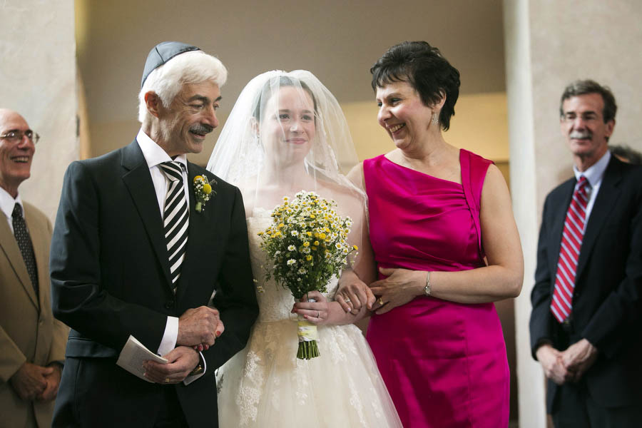 Jess Walks Down The Aisle With Her Parents Wedding Guest Reaction