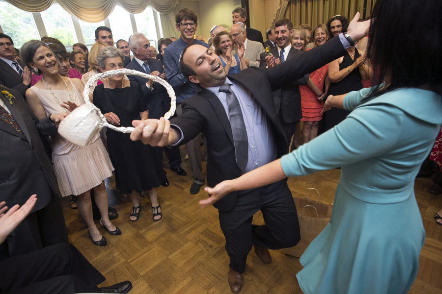 shtick at jewish wedding
