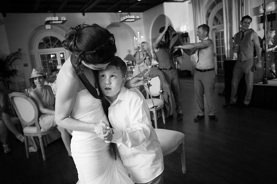 bride dances with grooms brother