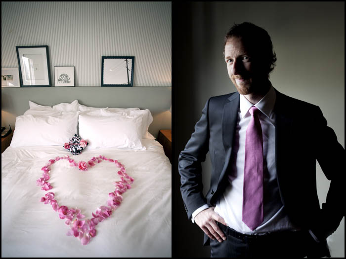 wedding photograph by dennis drenner in los angeles palihouse hotel west hollywood